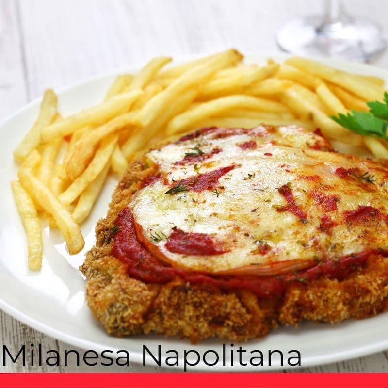 Milanesa Napolitana