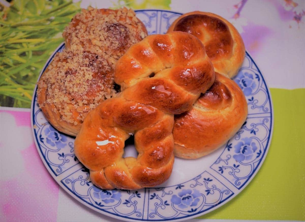 Mucenici Moldovenesti (Walnut-Coated Pastries)