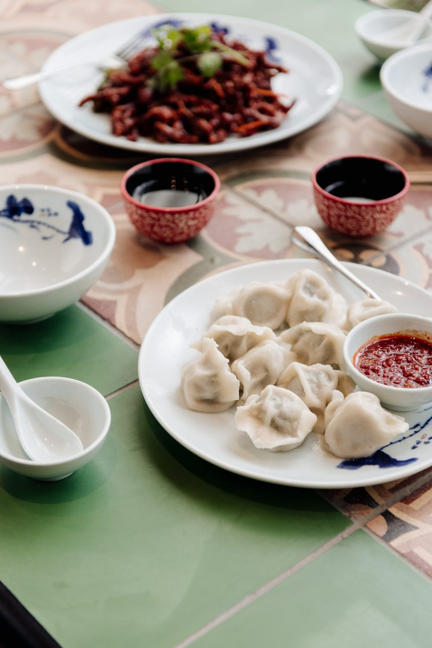 Chinese Pork & Cabbage Dumplings