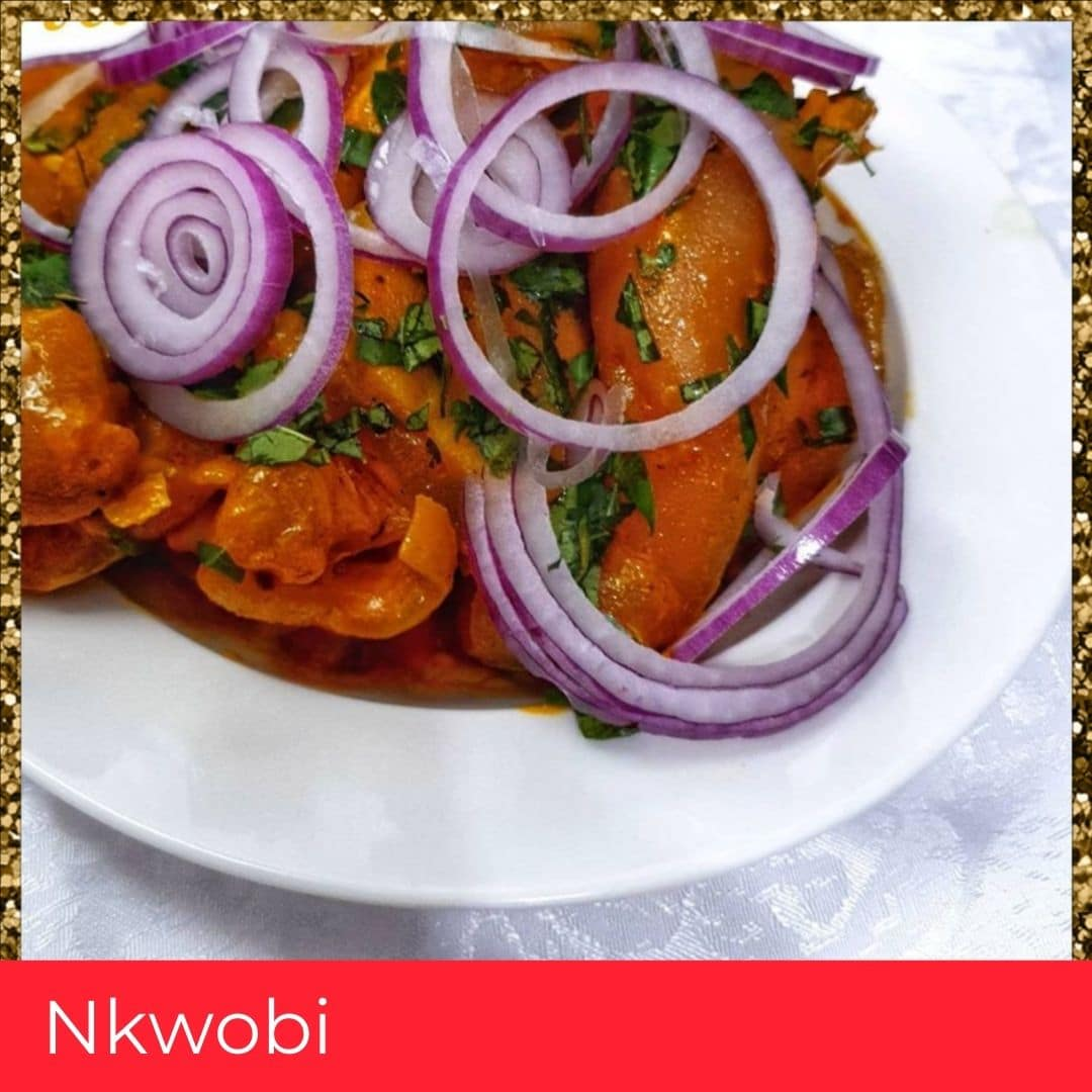 Nkwobi/Spicy Cow Foot Delicacy