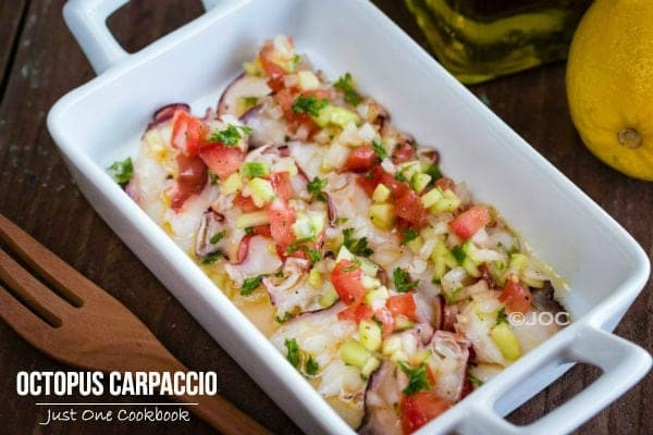 Octopus-Carpaccio