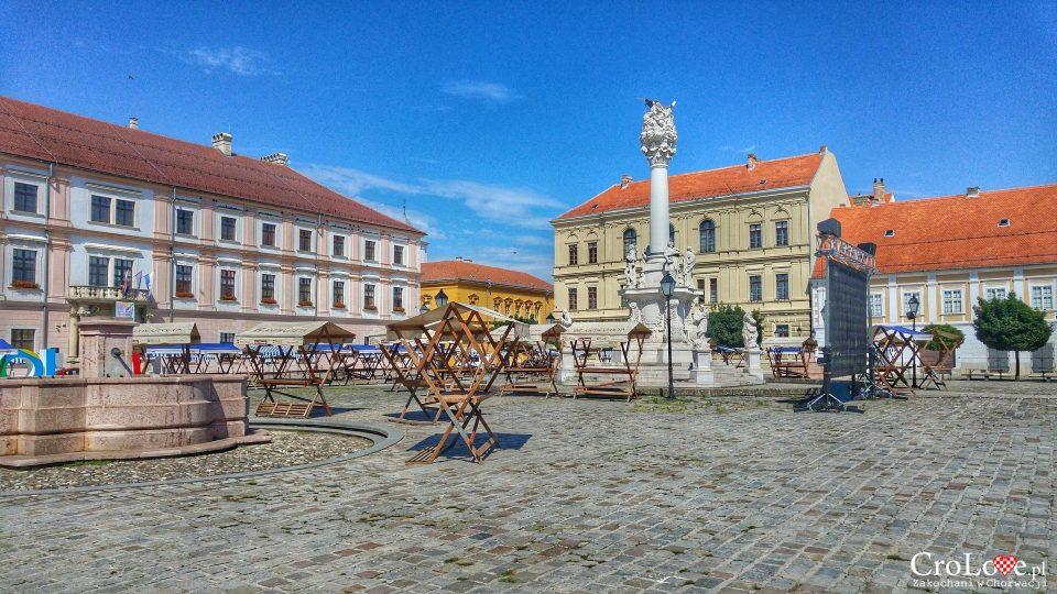 Osijek city in Slavonia Baranja Region