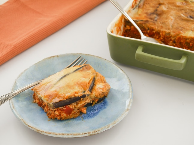 Vegan Moussaka With Eggplant Tofu And Vegan Bechamel Recipe Chef S Pencil