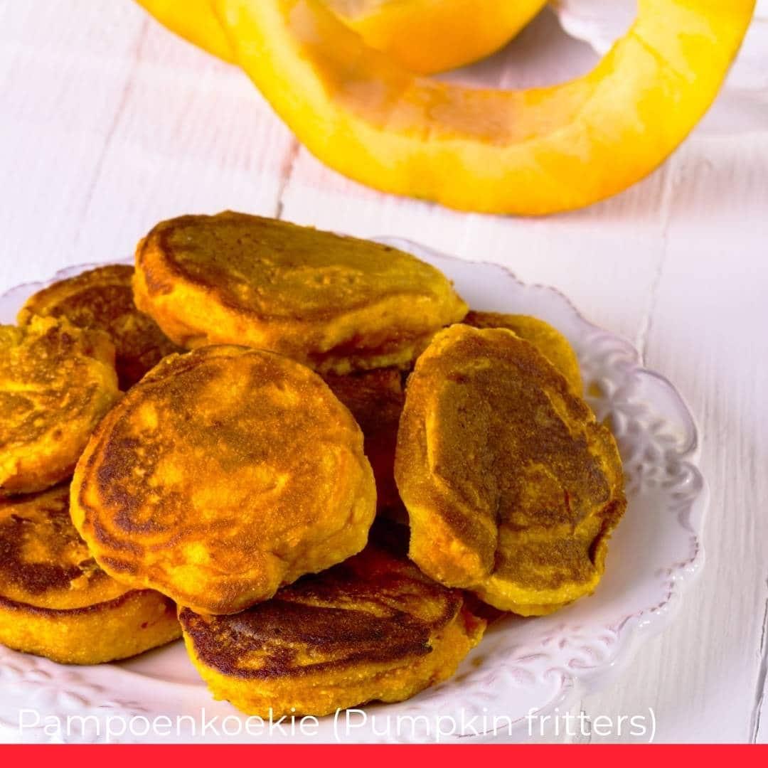 Pampoenkoekie (Pumpkin fritters)