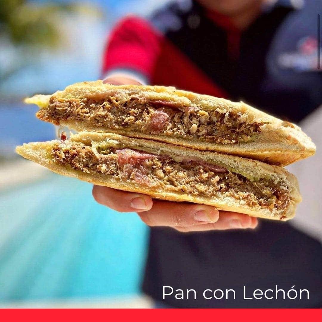 Pan con Lechon (Roast Pork Sandwich)