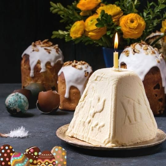 Easter Cheese Paska (No Baking)