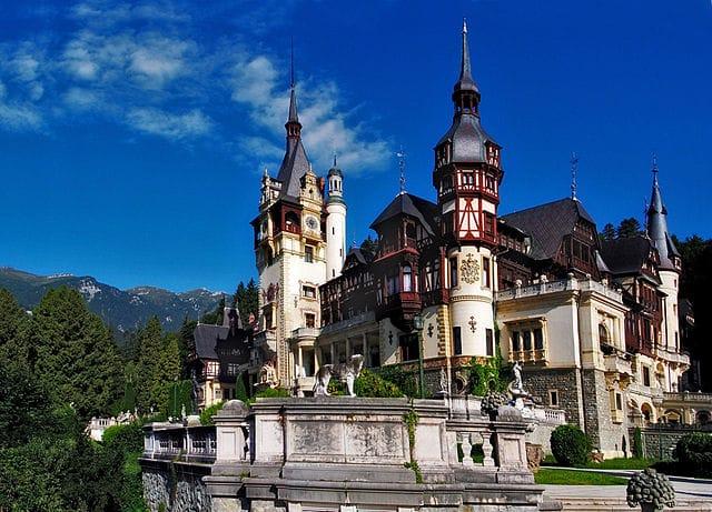 Peleș Castle; Photo credit: Camil72