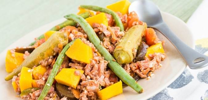 Pinakbet Tagalog with Pork Belly