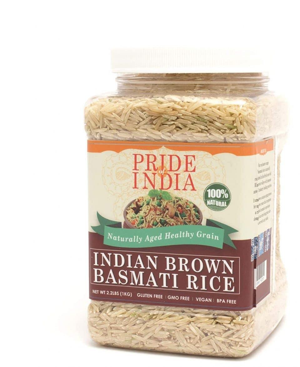 Pride of India Extra Long Brown Basmati