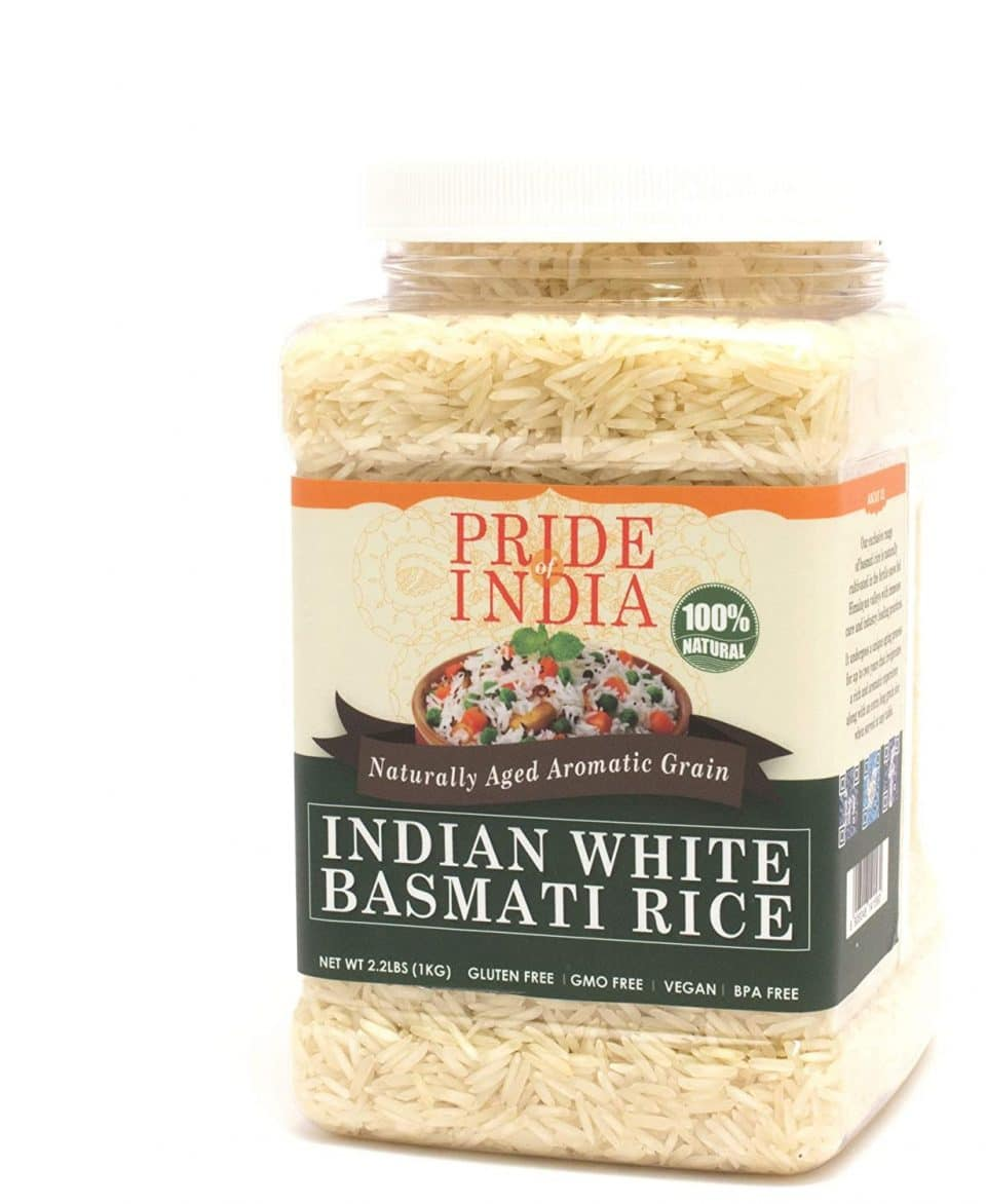Pride of India Extra Long Indian Basmati Rice