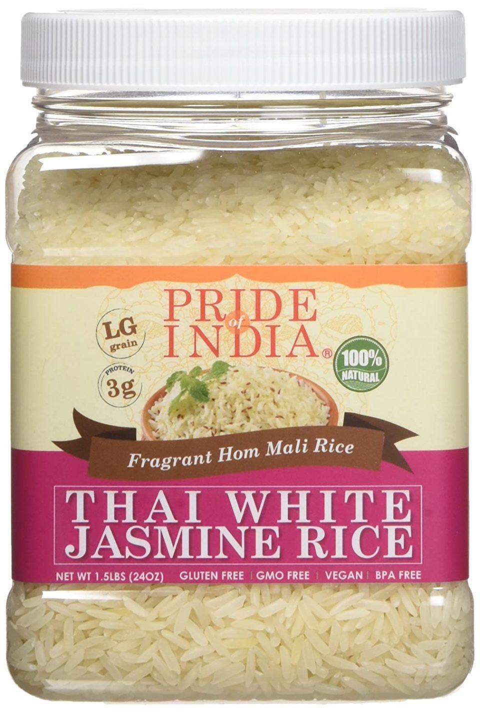 Pride of India: Thai White Jasmine Rice