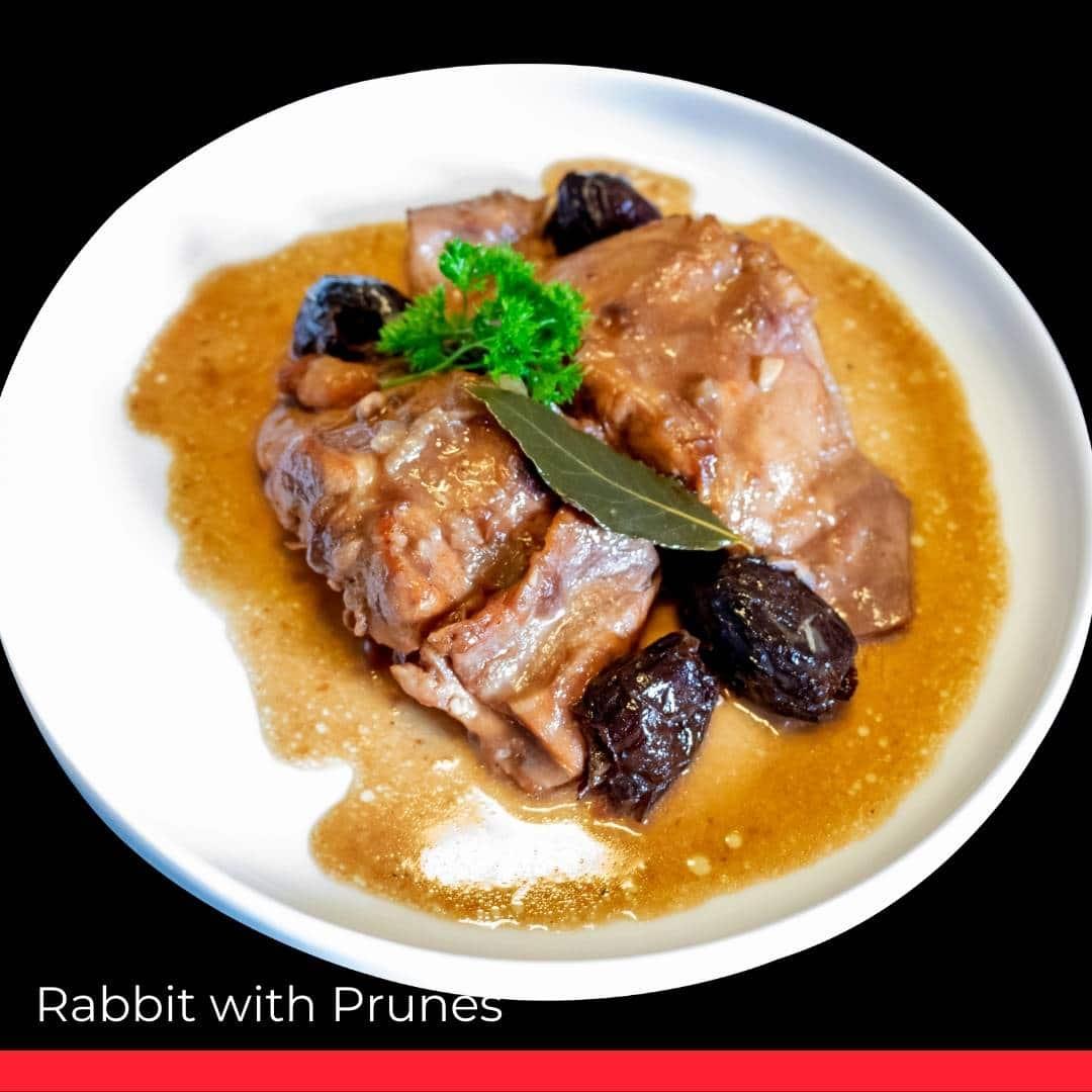 Rabbit with Prunes