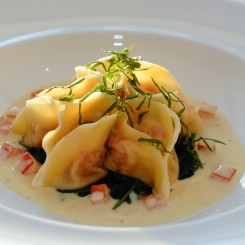 Raviolo of Crab copy