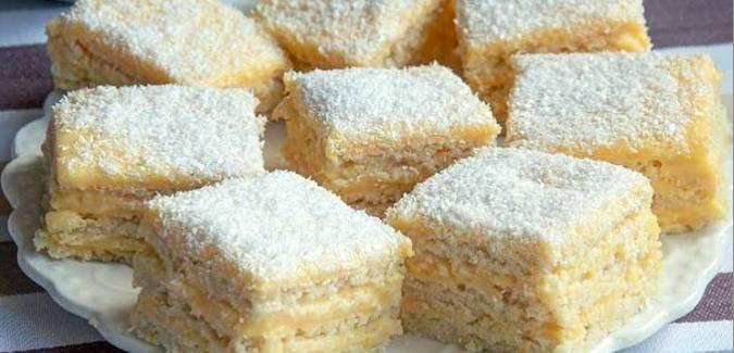 Romanian Lemon Cake (Snow White-Alba ca Zapada)