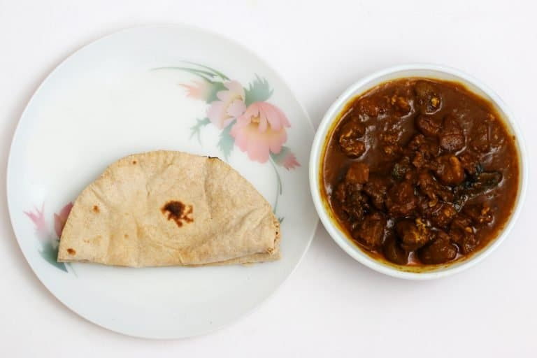 Curry and Roti