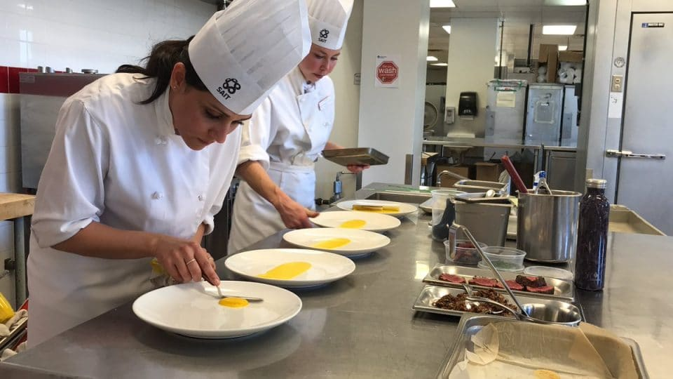 Calgary's Southern Alberta Institute of Technology Polytechnic's Cooking Program
