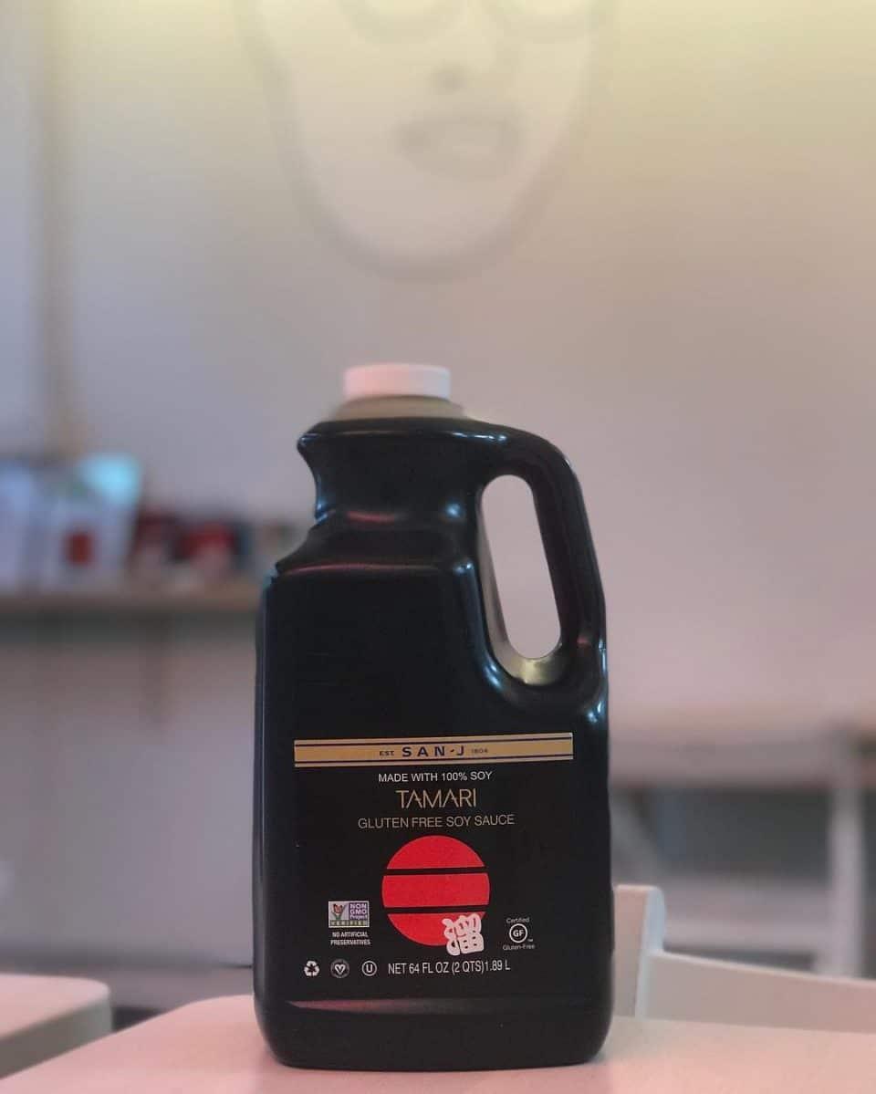 San-J Tamari Gluten Free Soy Sauce (64 fl. Oz)