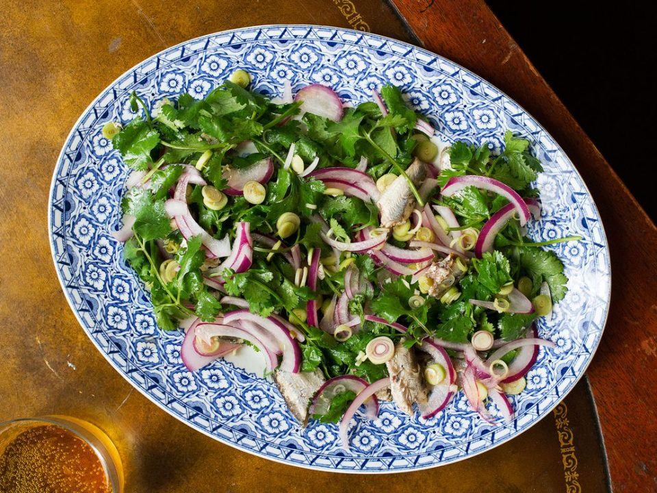 Sardine and Lemongrass Salad