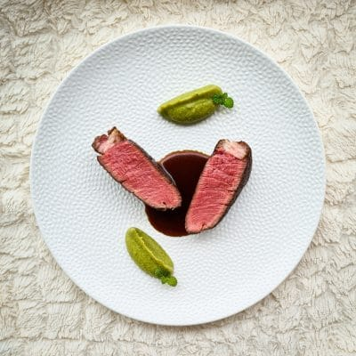 Beef Fillet with Honey and Beer Sauce