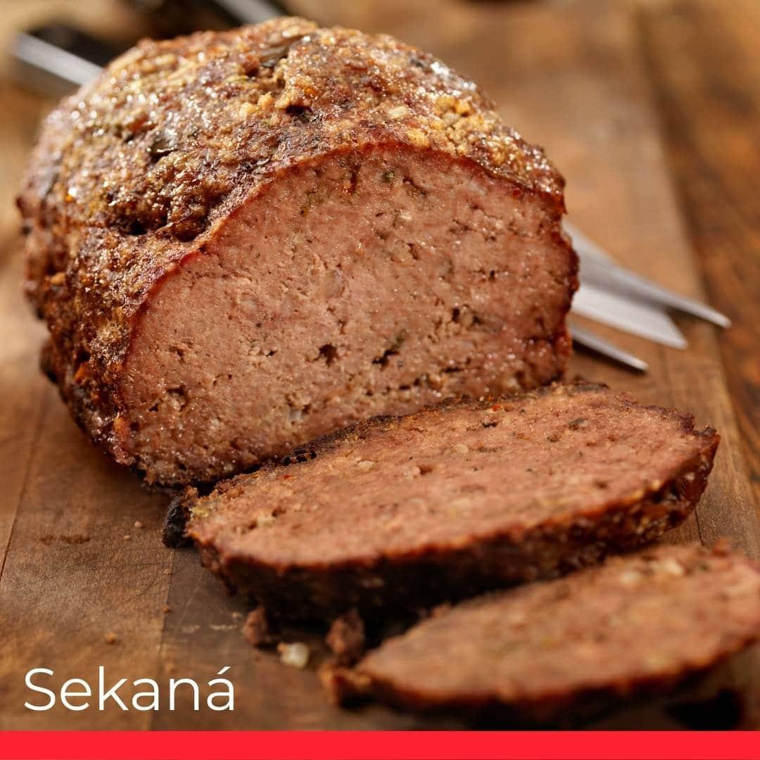 Sekaná (Czech meatloaf)