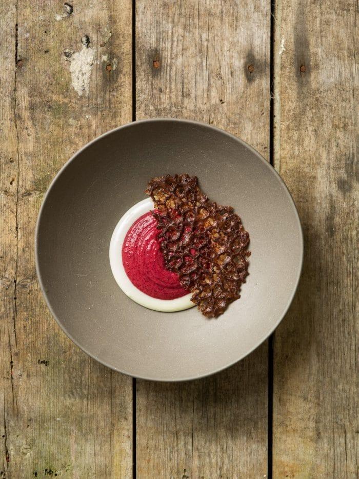 Whipped Buckwheat Semolina Porridge & Woodruff Colostrum