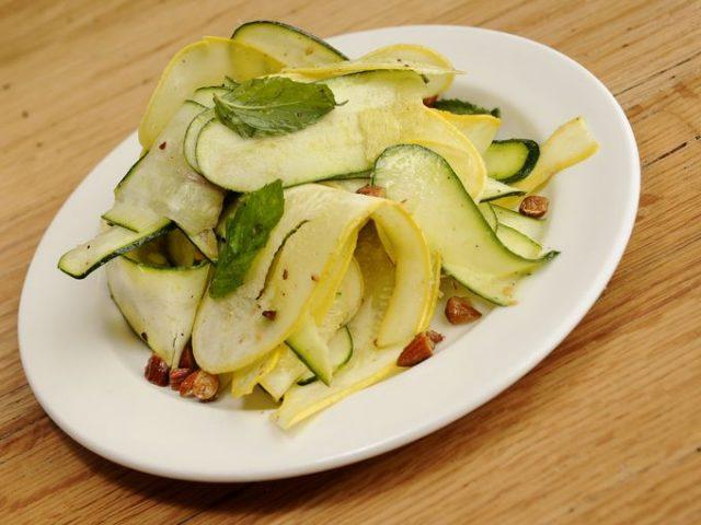 Ribbon Squash Salad