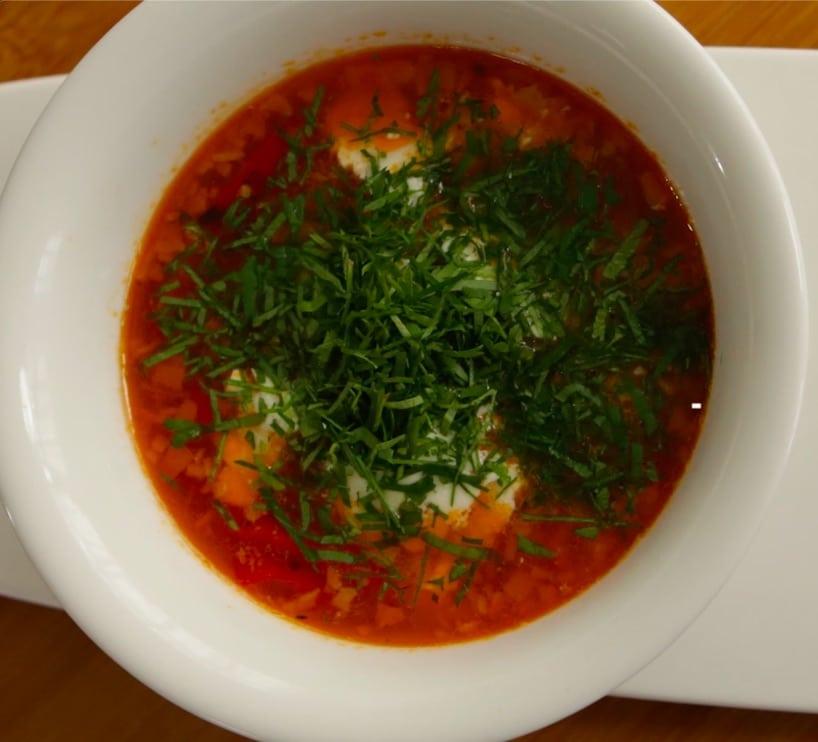 Traditional Bulgarian Soup (Shopi Style Soup)