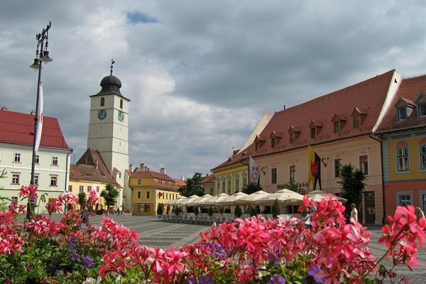 Big Square in Sibiu; Photo credit: https://www.getaclujtour.com