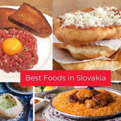 Top popular foods in Slovakia