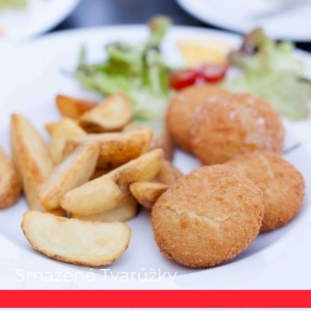 Smažené Tvarůžky (Fried Olomouc Cheese)