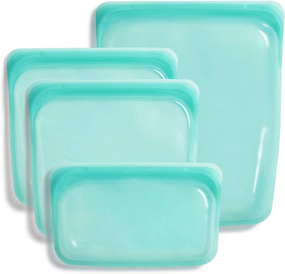 Stasher Platinum Silicone Food Grade Reusable Storage Bag