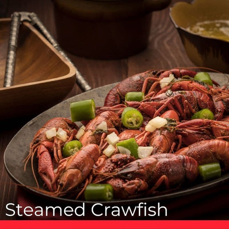 Steamed Crawfish