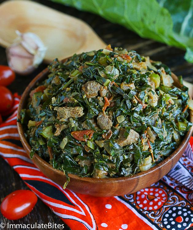 Sukumawiki (Kale/Collard greens)