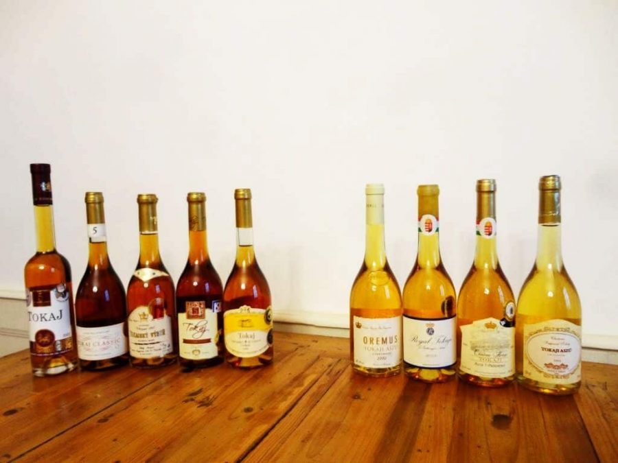 Sweet Hungarian Wines