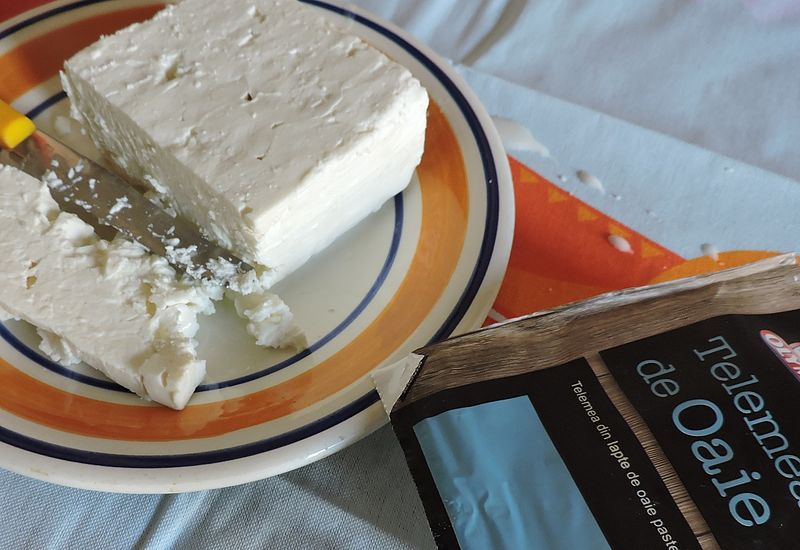 Telemea made from sheep`s milk