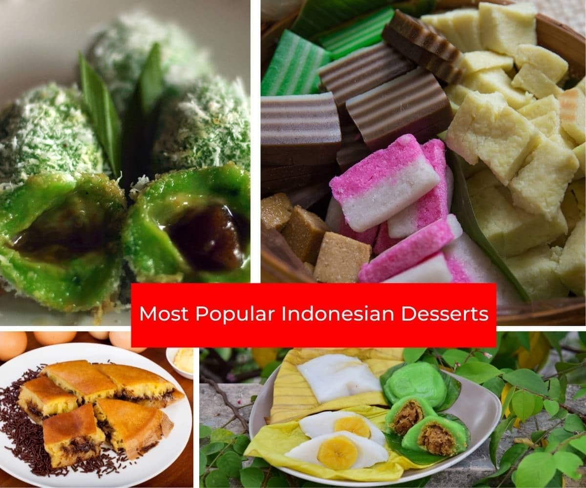 Most Popular Indonesian Desserts