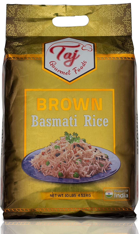 Taj Gourmet Brown Basmati Rice