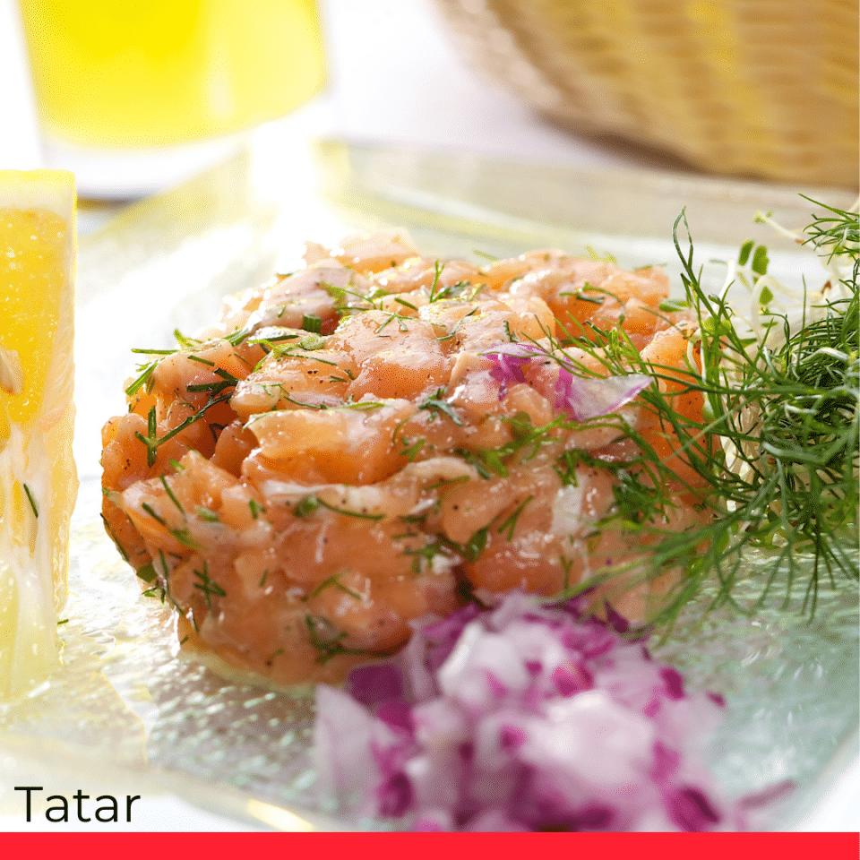 TATAR (raw minced beef meat)