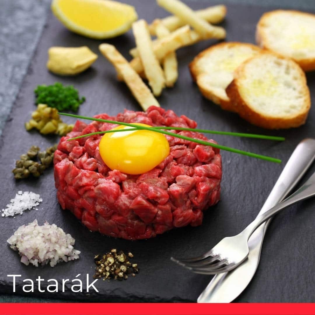 Tatarák (Steak Tartare)