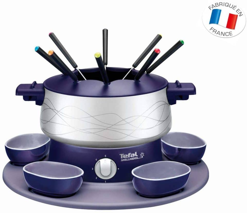Tefal Simply Invents EF351412 Fondue Set Blue/Indigo