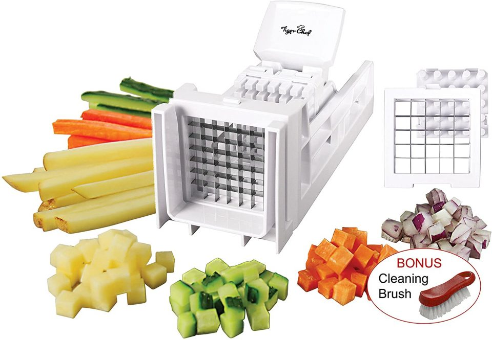 TigerChef Manual French Fry and Vegetable Dicer