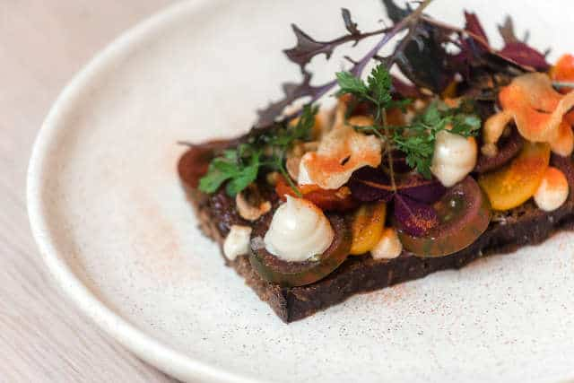 Smørrebrød Recipe: Tomatoes with Capers and Tarragon