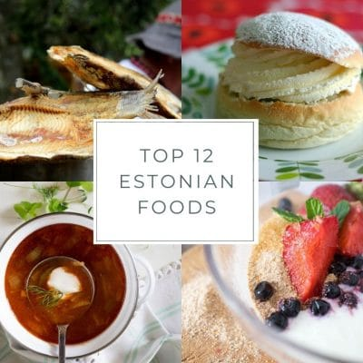 Top 12 Estonian Foods