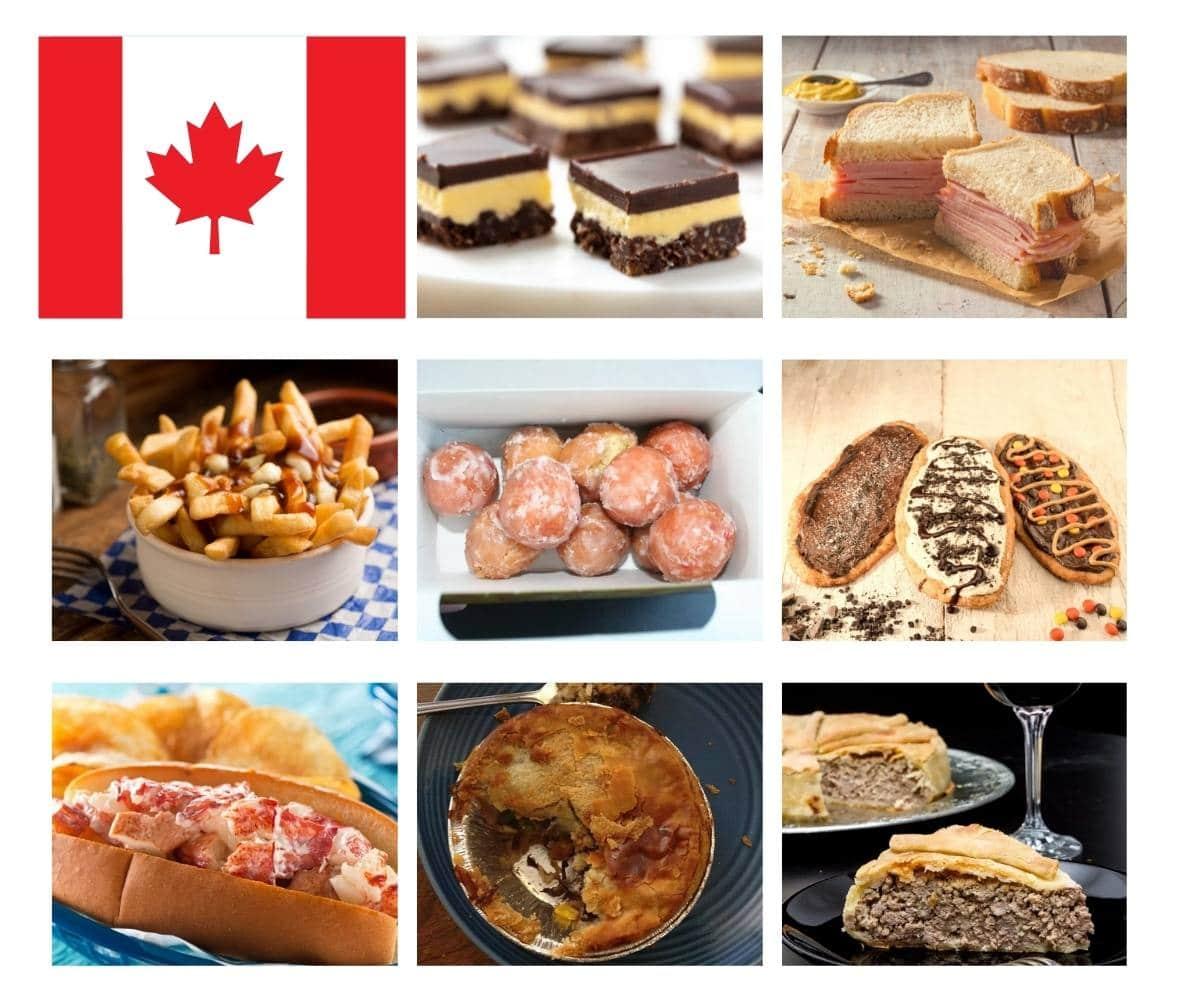 Top 20 Canadian Foods