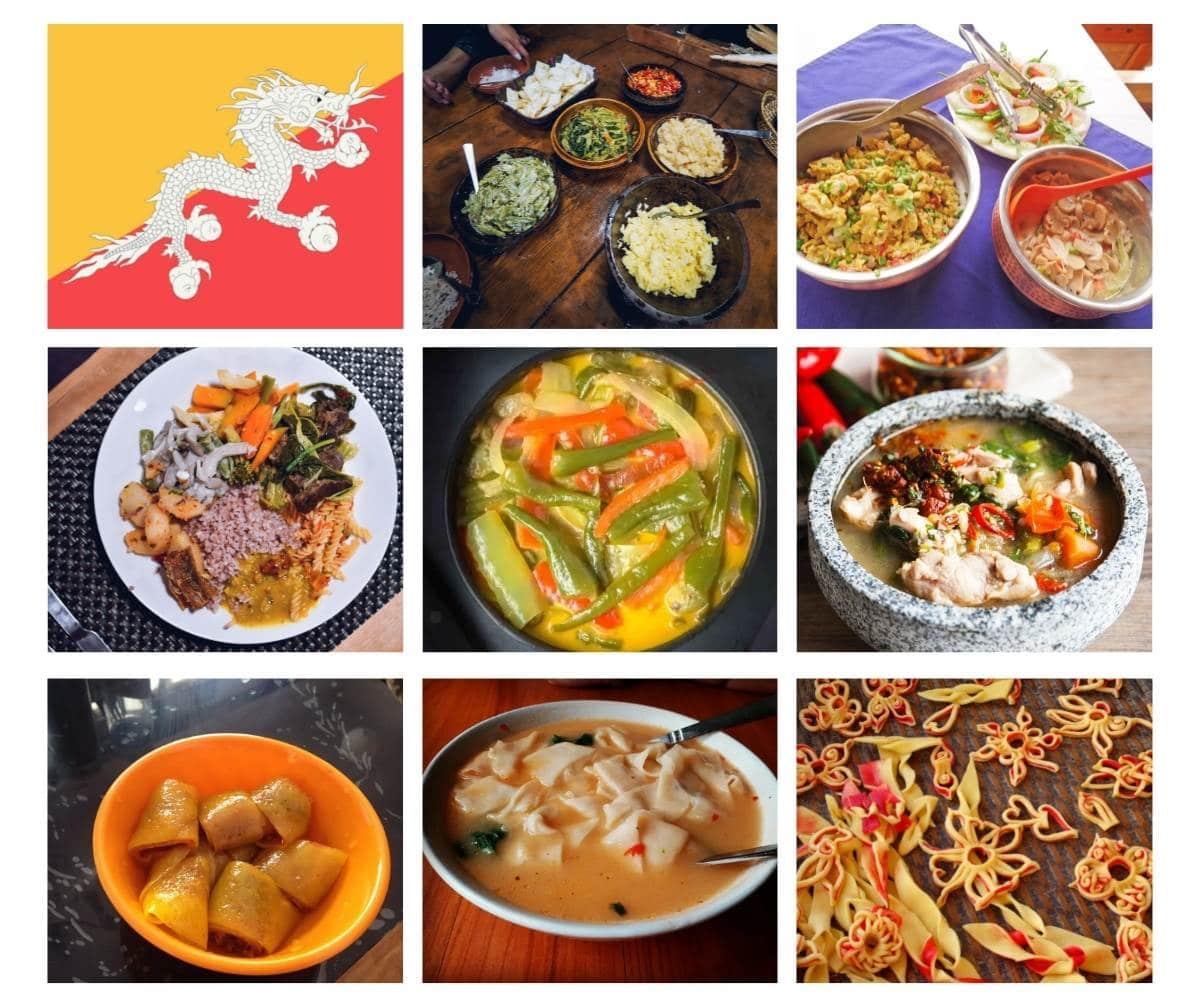 Top 20 Most Popular Food in Bhutan