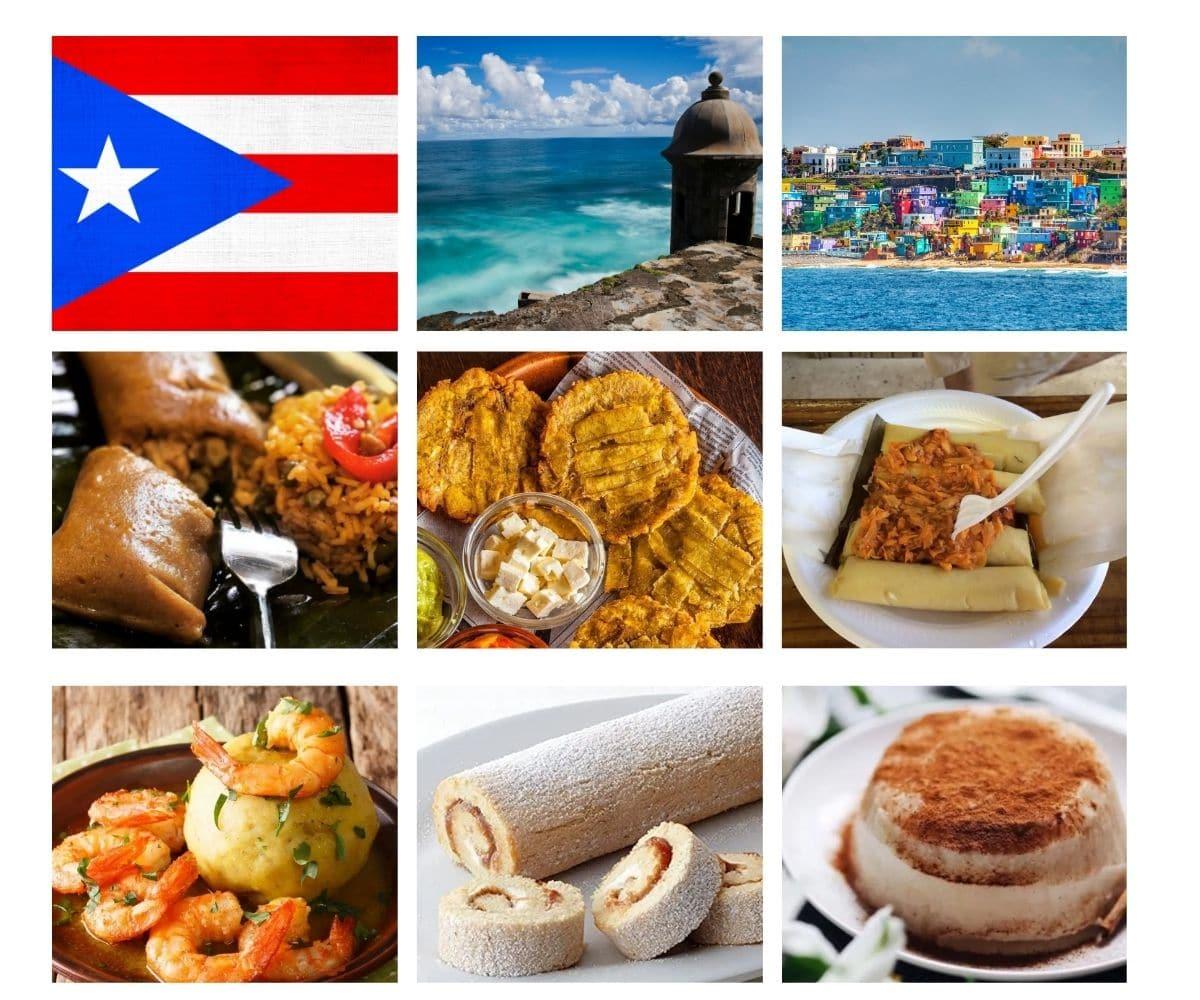 Top 25 Foods of Puerto Rico