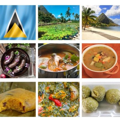 Top 25 Foods of Saint Lucia