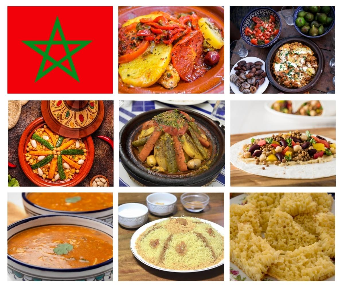 Top 25 Most Popular Dishes in Morocco
