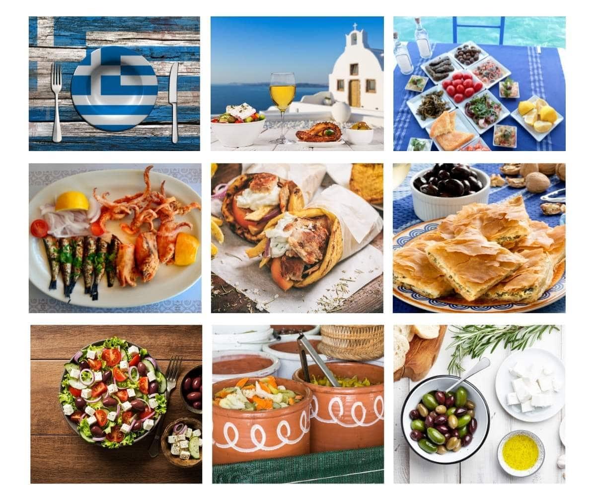 Top 25 Most Popular Foods in Greece
