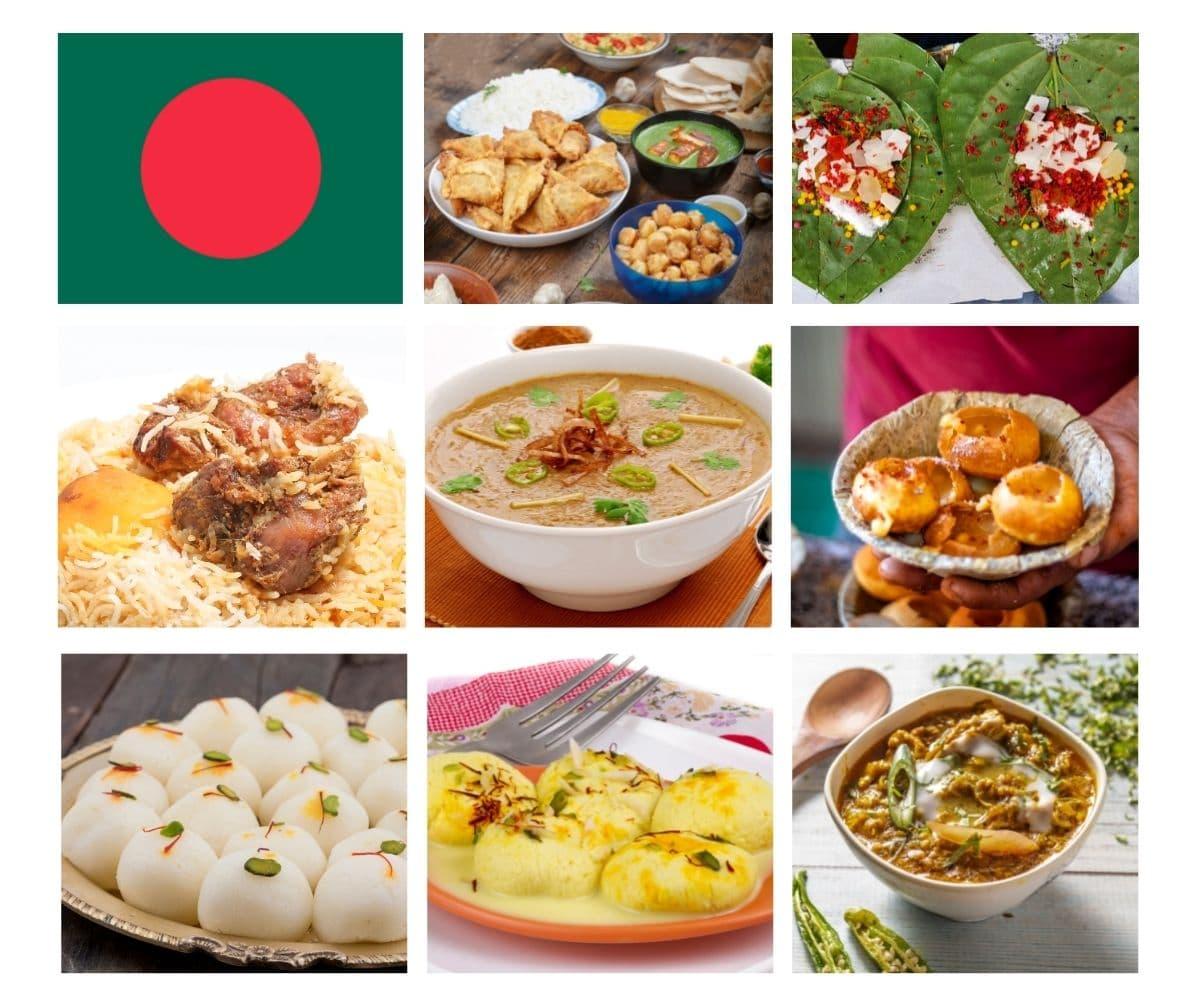 Top 25 most popular foods in Bangladesh